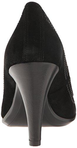 Ecco Shape Pointy Ballerina, Escarpins Femme Noir (Black)