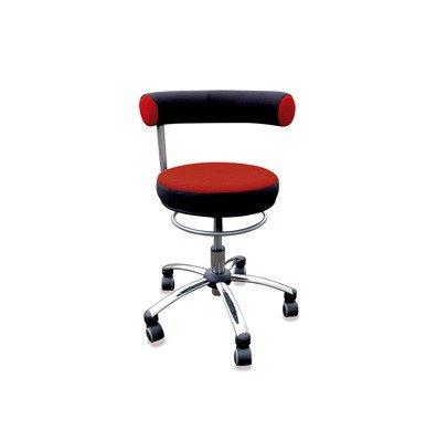 Standard-sitzhöhe (Sanus Gesundheitsstuhl Erzieherstuhl, Sitzhöhe standard (42-51 cm), rot/schwarz)