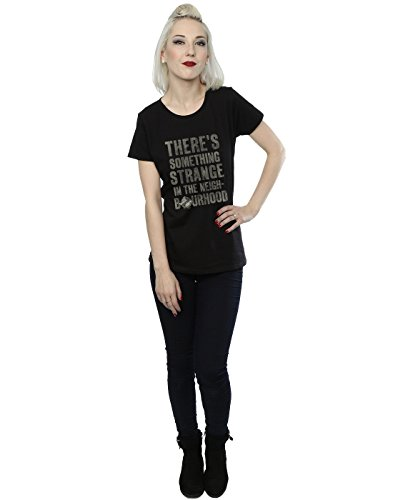 Ghostbusters Femme Something Strange T-Shirt Noir