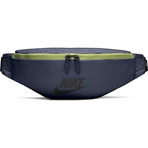 a92e6c355c Nike Unisex's NK HERITAGE HIP PACK Bag, Monsoon Blue Black, One Size