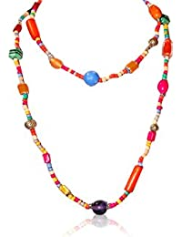 MMG Overseas / Glass Bead Long Necklace