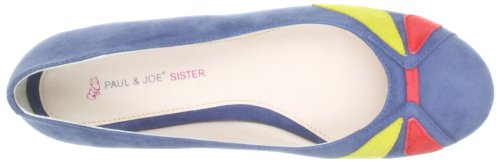 Paul & Joe Sister Ines 210531-50 Damen Ballerinas Blau (multicolore 2)