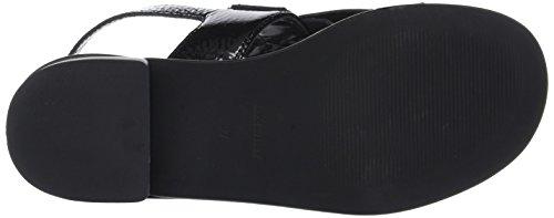 Donna Piu - 52833 Tatiana, cinturino posteriore Donna Noir (Naplak Nero)