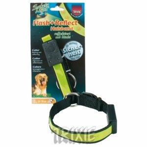 Artikelbild: Trixie 13301 Flash und Reflect' Halsband, S-M 30-40 cm/20 mm