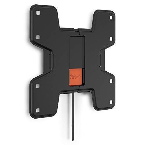 VOGEL'S WALL 3105 - TV Wandhalterung für 19-43 Zoll Fernseher, max. 20 kg, Flache Fernsehhalterung, TV halter, Flach, VESA max. 200 x 200 mm, schwarz