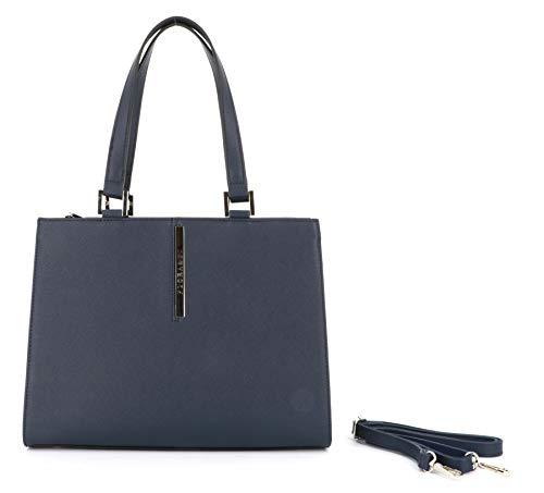 Damen-Handtasche – quadratische Tasche aus PU-Leder getragen, Schultergurt, mehrere Taschen – Studenten Business – Mode Mädchen Elegant Chic