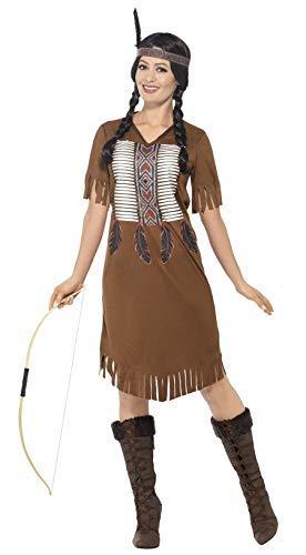 Fancy Me Damen Indianerkostüm Prinzessin um die Welt International Cowboys & Indianer Kostüm, Outfit, UK ()