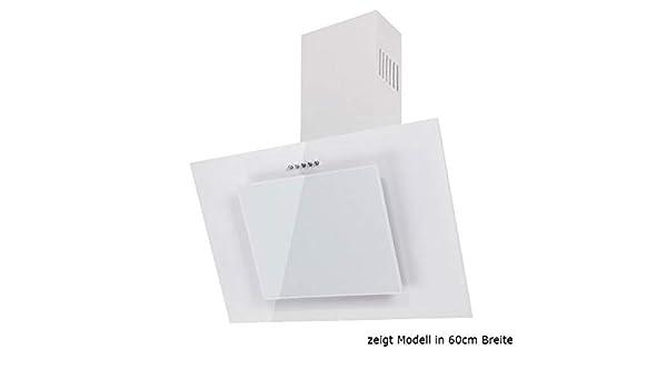 Dunstabzugshaube wandhaube f bayer fire w cm weiß weißglas