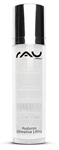 RAU Hyaluron Ultimative Lifting Hyaluronsäure-Konzentrat Gel 50ml im Airlessspender, unser Topseller im Kampf gegen das Altern der Haut mit Soforteffekt. Liften Sie Ihre Haut ohne zu spritzen! - NEU