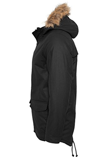 TB896 Coated Nylon Parka Winter Jacke Herren Kapuze - 4