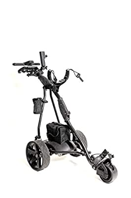 Caddy1 Elektrotrolley 400/410 Schwarz