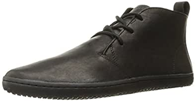 Vivobarefoot Men's Gobi II Desert Boot, Black/Hyde, 47 EU/13-13.5 M US