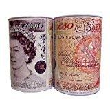 GSL - 2 x Massive Extra Large Jumbo Money Tin £5 £10 £20 £50