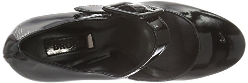 Bronx 74956-B, Scarpe col tacco Donna Nero (black 01)