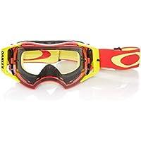 1297479d6d Oakley Gafas Mx Airbrake Rojo-Amarillo-Clear (Default, Rojo)