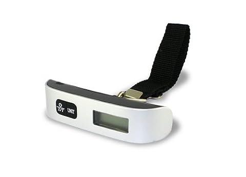 Accessory Village Support à main/bagage numérique Portable pour bagages (Max 50 kg/110lb) Fonction désactiver & InTemperature écran intégré