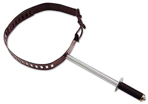 Verstellbare Kragen für Stove Pipe Durchmesser 8-12 cm Schwarz -