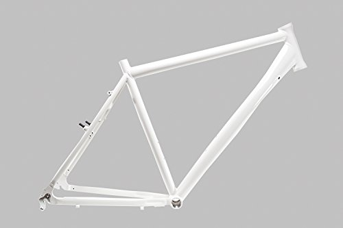 "28"" Zoll Alu Fahrrad Rahmen Herren Trekking Bike frame Rh 55cm weiß B-Ware A Head 1 1/8"