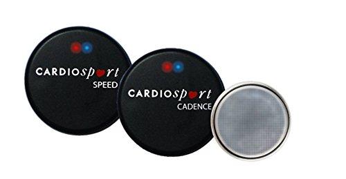 Cardiosport SOLO Geschwindigkeit und Trittfrequenz Sensor, Bluetooth & ANT+, fur iPhone, Android, fahrradcomputer (Rpm-sensor)