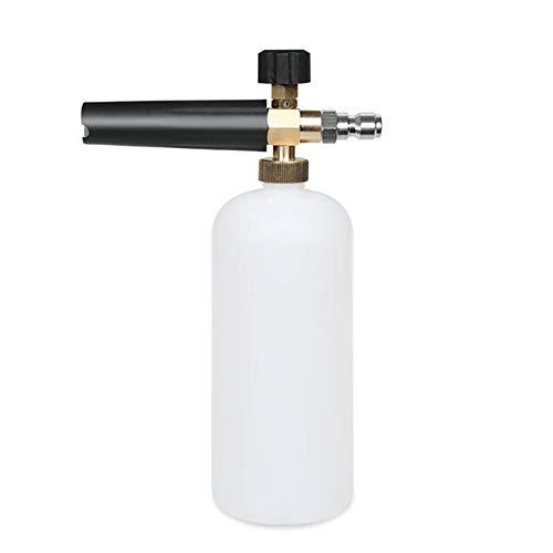 Hochdruckreiniger Jet Schnellspanner Einstellbar Schnee Schaum Spritzpistole Schaum Topfspüler Fächerförmigen Wasserpistole Sprayer Autowaschanlage Schaumpistole Schaum-Generator