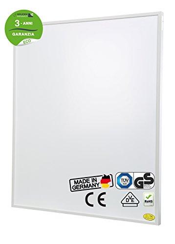 Brudek Infrarotheizung 300 Watt mit Thermostat & Stecker | 3 Jahre Hersteller Garantie | für Ihr Badezimmer | Energieeffizient & Sparsam elektrisch heizen | Wand oder Decken-Montage möglich | Elektroheizung Made in Germany | ECO-Serie