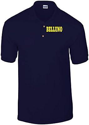 T-Shirtshock - Polo WC0854 BELLUNO ITALIA CITTA STEMMA LOGO