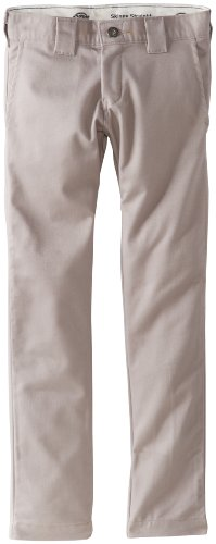 dickies-qp801-boys-skinny-straight-pant-size-12-color-silver-grey