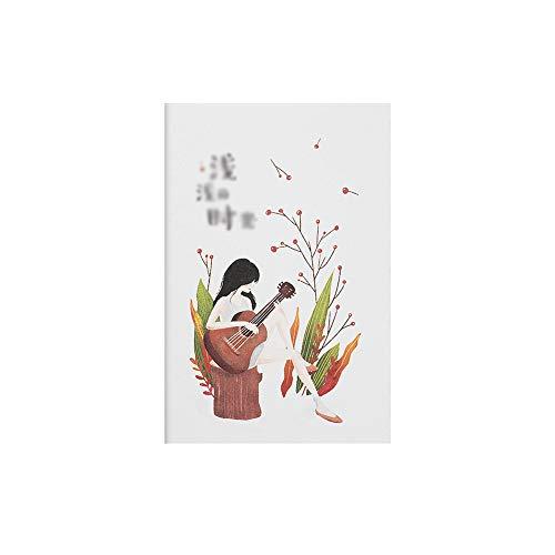 (Namgiy Notizbuch Reisetagebuch für Reisen, Schule, Schreibwaren, Geschenk für Lehrer, Studenten, Männer, Frauen, 14 x 21 cm M Style-5)