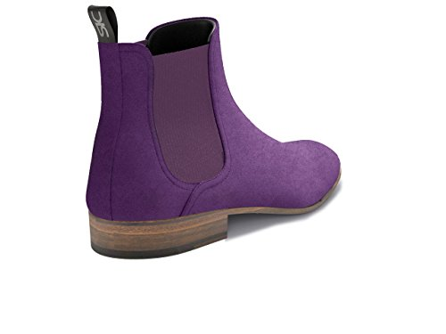 DIS - Roberto - Chelsea Boot - Homme Violet