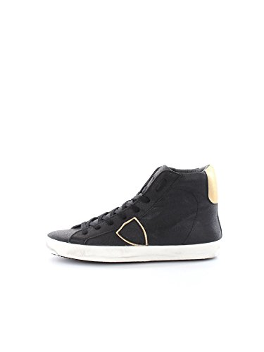 PHILIPPE MODEL PARIS CLHD MC21 CLASSIC HIGH NERO SNEAKERS Donna NERO 38