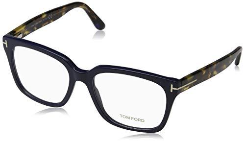 Tom Ford Unisex-Erwachsene Ft5477 Brillengestelle, Blau (BLU LUC), 58