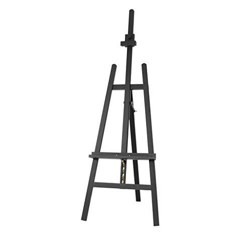 XUDONG naturbuche staffelei staffelei Werbung Kunst staffelei Skizze aquarell staffelei Kleidung ölgemälde ständer, 193 cm höhenverstellbar (Farbe: Holz Farbe),Walnuss Farbe -