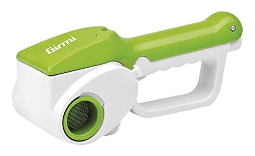 Girmi GT01 Grattugia elettrica, Acciaio Inossidabile, Verde