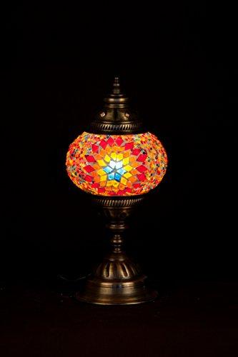 Medium Mosaic Desk Lamp - Multicolor
