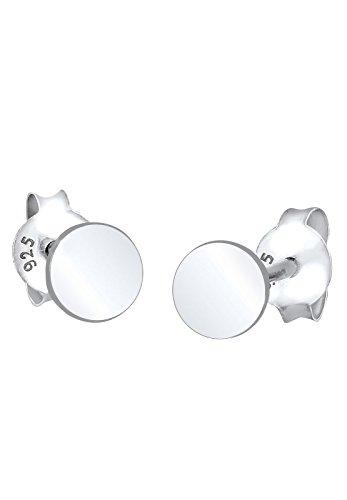 Elli Damen Ohrstecker Kreis 925 Sterling - Kreise Silber