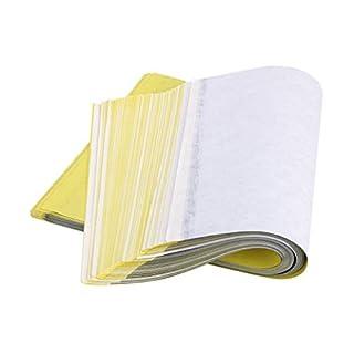 Makwes 50 Blatt Tattoo Transferpapier,Bürobedarf & Schreibwaren,Künstler- & Bastelbedarf,Papier & Bastelpapier,Papier,für Office School Work