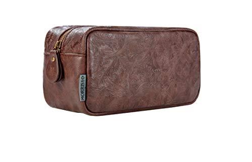 Morris & Co. Wash Bag Trousse de Toilette, 24 cm, Marron (Refined Gentleman)