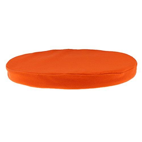 Auto Stuhl Schlafcouch Wurfkissen Rund Kissen Sitzpolster Garten Hausdekor - Orange (Wurfkissen Orange)