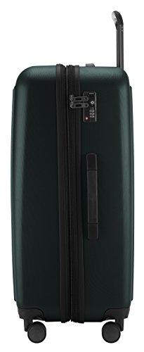 HAUPTSTADTKOFFER - Tegel - Hartschalenkoffer Koffer Trolley Rollkoffer Reisekoffer, TSA, 75 cm, 128 Liter, Waldgrün -