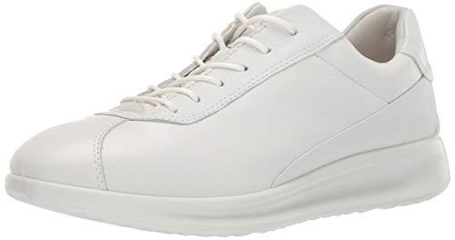 ECCO Damen Aquet Sneaker, Weiß (White Ovid 1007), 42 EU -