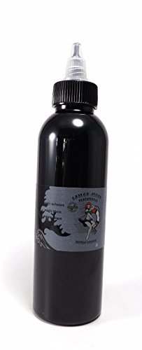 SAILOR JERRY MAGIC BLACK 150ml - deutsche Tattoofarbe mit Zertifikat - INKgrafiX® IG03881 Tattoo INK