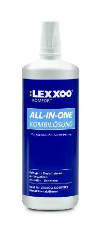 LEXXOO Komfort All-in-one Kombilösung 360 ml, 1er Pack (1 x 360 ml)
