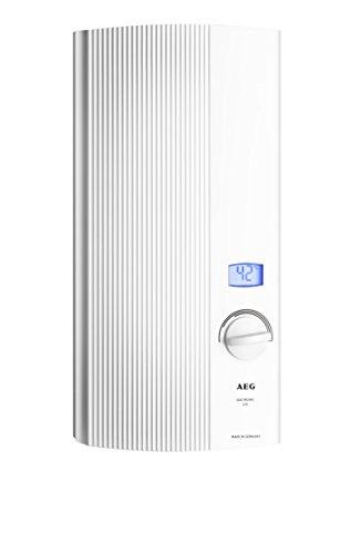AEG 222394 DDLE LCD elektronischer Durchlauferhitzer wählbare Leistung EEK A, 18/21/24 kW druckfest