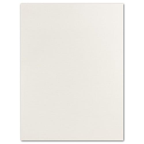 Leinenstruktur Karton   20 Stück   DIN A4 - 297 x 210 mm   in Weiß   240 g/m²   Ideale Bastelkarten für Weihnachten, Einladungen und Deckblätter   GUSTAV NEUSER A4 Einladungen