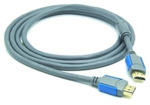 G&BL High Speed HDMI-Kabel 1,4 mit Ethernet-Kanal, Ferritkern, 5m, Schwarz