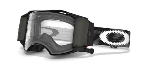 Oakley Masque Airbrake Mx Race-ready Jet Black Speed Ecran Clear
