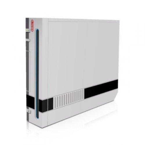 DecalGirl Nintendo Wii Skin Design Aufkleber Schutzfolie Sticker - Retro Horizontal