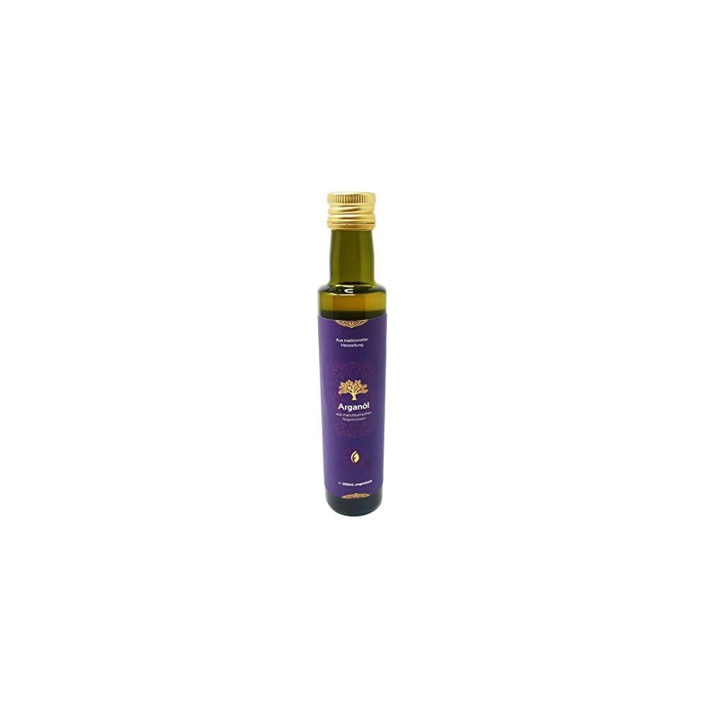 Foodtastic Bio Arganl 250ml Ungerstet Kaltgepresst 100 Reine Qualitt Aus Marokko Auch Als Pflegeanwendung Fr Haut Und Haare Geeignet