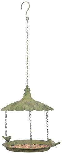 Esschert Design AM84años metal verde colgante pájaros