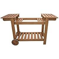 Simogas cbr78Rainbow Mueble Madera Compatible con Plancha Madera Marrón
